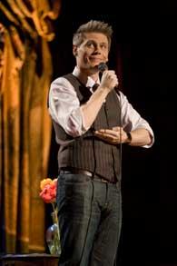 Christian Finnegan - On Stage